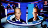 Empate técnico en Israel entre Netanyahu y Gantz