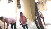 Con una sierra eléctrica, mujer asalta spa y se roba el bótox