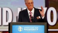 Fallece el multimillonario conservador, David H. Koch