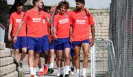 Llega apoyo desdeEuropa; el Atlético le manda buenos deseos al San Luis