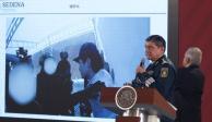 FOTOS: Expone Sedena relatoría por captura y liberación de Ovidio Guzmán