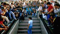 Cautiva documental de Diego Maradona en Napoli