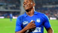 Brayan Angulo, el goleador de Cruz Azul, ya está en México