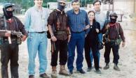 López Obrador comparte fotografía con subcomandante Marcos