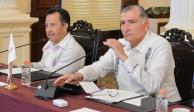 Veracruz, Tabasco y Chiapas impulsan coordinación integral para la paz
