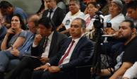 Héctor Astudillo asiste al informe de resultados de la investigación del caso Ayotzinapa