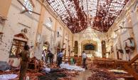 FOTOS: Explosiones dejan al menos 207 muertos en Sri Lanka