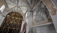 Restauran más templos considerados patrimonio cultural, dañados por 19S