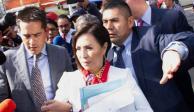 Presenta Robles queja contra Gertz Manero ante CNDH