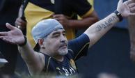 Maradona, dado de alta tras operación por sangrado estomacal