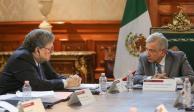 Política mexicana se rige por la no intervención, AMLO a Fiscal de EU