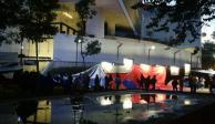 CNTE instala plantón afuera del Senado por leyes de Educativa