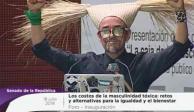 Empáticos saludos, hijos de la chingada, dice Rubén Albarrán en el Senado