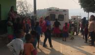 Reportan estables a menores que comieron comida en mal estado en Guerrero