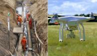 Proponen usar drones para vigilar ductos de Pemex