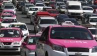 Anuncian operativos para revisar taxis en la CDMX