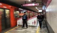 Secretaría de Seguridad Ciudadana reforzará vigilancia en el Metro
