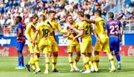 Barcelona golea 3-0 al Eibar en calidad de visitante