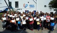 Benito Juárez reconoce a mujeres destacadas en cultura física