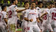 """Con golazo del """"Chicharito"""", Sevilla vence 3-0 al Qarabag en Europa League"""