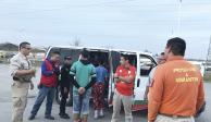 """Alcalde considera irresponsable """"dejar sueltos"""" a migrantes en Piedras Negras"""