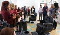 Del Mazo inaugura plantel número 46 de la Escuela de Artes y Oficios