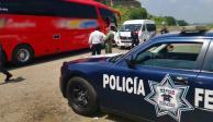 Rescatan a 41 migrantes en autobuses de Veracruz; 18 son menores