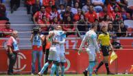 """Querétaro sorprende 2-0 a Toluca en el """"Infierno"""""""