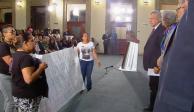 Protestan familiares en informe sobre Sistema Nacional de Búsqueda