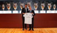 Eder Militao se mareó en su presentación con el Real Madrid