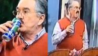 Pedrito Sola lo vuelve a hacer: anuncia cerveza y hace cara de asco