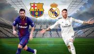 De madrugada el Clásico Barcelona vs Real Madrid para aficionados mexicanos