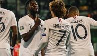 Umtiti lanza dardo a Griezmann para que juegue con el Barcelona