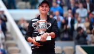 Ash Barty gana su primer Roland Garros y Grand Slam en su historia
