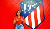 Charlyn Corral, flamante refuerzo del Atlético de Madrid Femenino