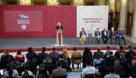 Proyecto Cultural Chapultepec, crecimiento económico y ayuda a ancianos, temas de AMLO en mañanera