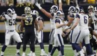 Rams, el primer invitado al Super Bowl LIII