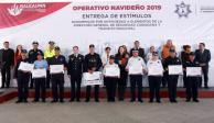 Dan banderazo de salida a Operativo Navideño 2019 en Naucalpan