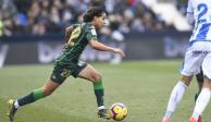 En duelo de mexicanos, Leganés y Reyes golean 3-0 al Betis de Guardado y Lainez