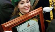 Tatiana recibe Doctorado Honoris Causa por labor con niños