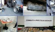 En refrescos, dobles fondos y hasta juguetes... así pasan armas de EU a México (FOTOS)