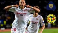 """Sevilla, del """"Chicharito"""", cancela partidos contra Pumas y América"""