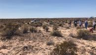 Hallan 42 osamentas en fosa clandestina en desierto de Sonora