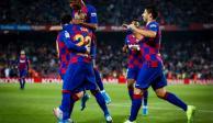 Barcelona golea al Valladolid con un Messi fenomenal