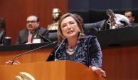 """En terna de AMLO para SCJN hay perfiles """"interesantes"""": Xóchitl Galvez"""