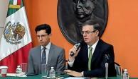 Estima Ebrard 80% de posibilidades de terminar con conflicto arancelario México-EU