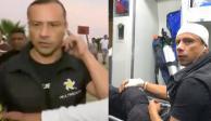 Golpean a reportero que transmitía en vivo desde Coacalco (VIDEO)