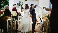 Yuridia se casó en secreto con Matías Aranda y fotos revelan detalles de la boda