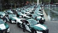CDMX entrega 74 patrullas a la alcaldía Álvaro Obregón
