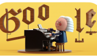 """Google rinde tributo a Bach lanzando primer """"Doodle"""" en su página"""